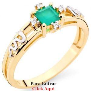 Anéis de Formatura de Ouro